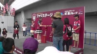 2013.8.4ファジアーノ岡山vsガンバ大阪19:00キックオフ@カンスタ 試...