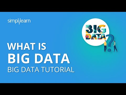What is Big Data | What Is Hadoop and Big Data | Big Data Tutorial For Beginners | Simplilearn
