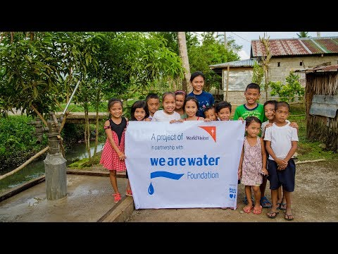 We Are Water Foundation | Water supply system restoration in Leyte, Philippines