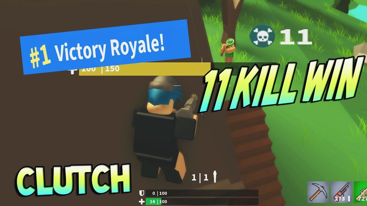 11 KILL WIN? AMAZING CLUTCH! [Island Royale ROBLOX] - YouTube