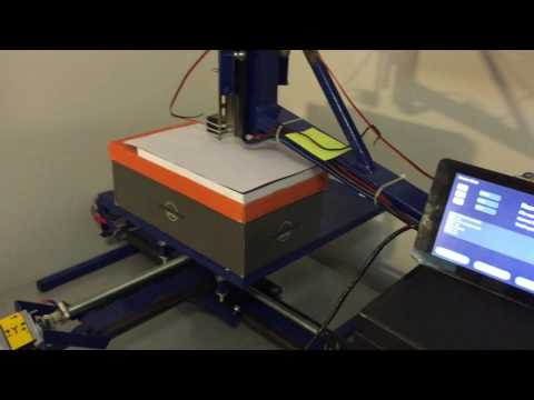 CNC + PLC Machine - Simple demo program