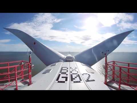 See the view from the world's largest offshore wind turbine in 360°