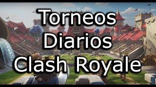 TORNEOS DE CLASH ROYALE EN DIRECTO, EN VIVO - TORNEO GRATIS - TOP LADDER MEXICO