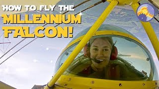 How to fly the MILLENNIUM FALCON! | Maddie Moate