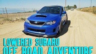 Lowered Subaru Goes Off Road Reaction - SmurfinWRX