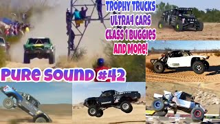 PURE SOUND #42 | Desert Racing Compilation (Trophy Trucks, Ultra4 Cars and More!)