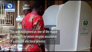 Kaduna LG Poll: Presiding Officers Take Voters Through Electronic Voting Process
