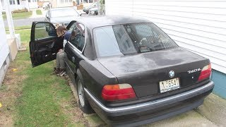 FREE BMW LEFT BEHIND FOR SCRAP???