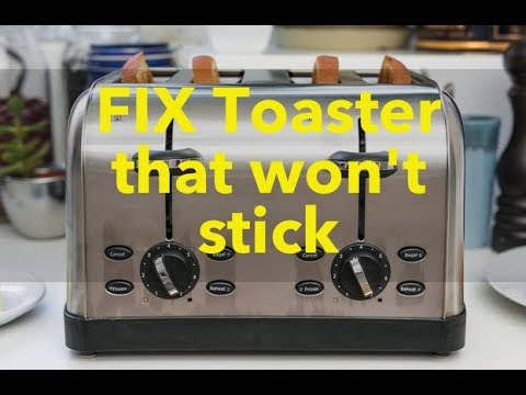 How To Fix Toaster That Won T Stay Down Cuisinart Cpt 180 Cpt Lever Youtube