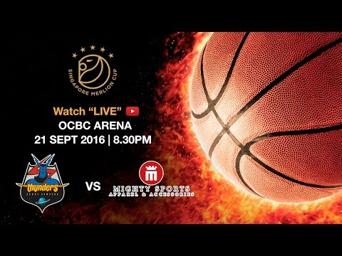 Basketball: ​Seoul Samsung Thunders vs Mighty Sports | Singapore Merlion Cup 2016