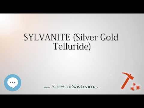 SYLVANITESilver Gold Telluride