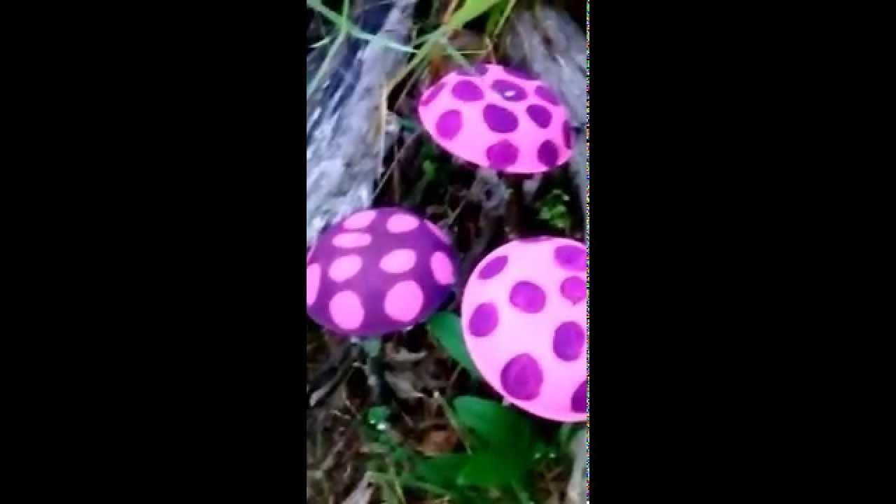 DIY: How To Make Little Garden Mushrooms   YouTube