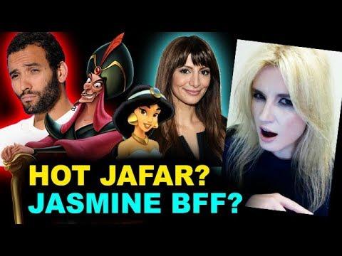 Aladdin Live Action - Marwan Kenzari is Jafar, Nasim Pedrad is Mara