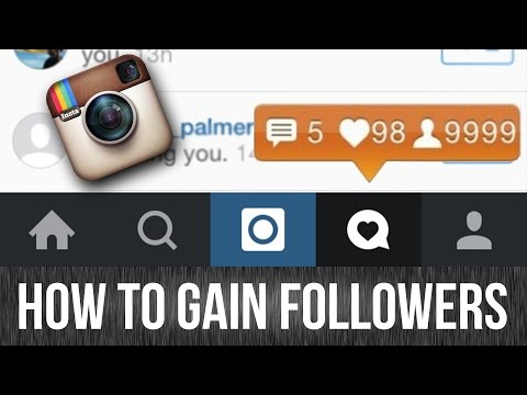 How to get followers on Instagram 2016/7 formula
