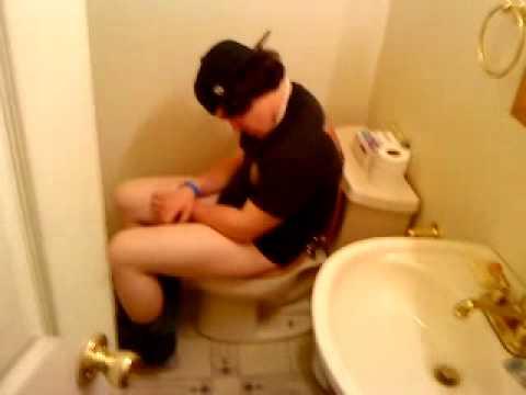 Guy on toilet 7