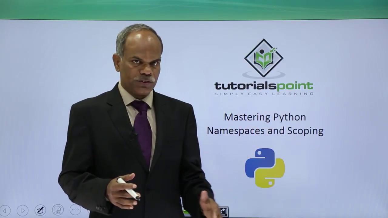 Python - Namespace & Scoping - YouTube