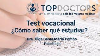 Test vocacional - ¿Cómo saber qué estudiar?
