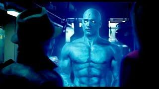 Watchmen (2009): Rorschach meets Dr. Manhattan and Silk Spectre | SUBTITLES included