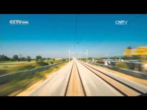 Around Hainan island by train in 50 seconds