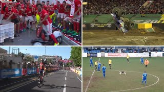 The amazing world of sport in 2017: best viral clips