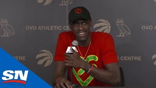 Raptors' Pascal Siakam Season-Ending Press Conference