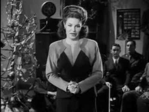 "MARTHA RAYE sings ""SILENT NIGHT"""