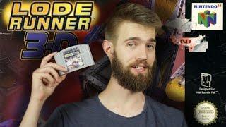 Lode Runner 3D for N64 Review