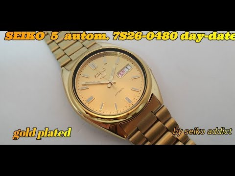 SEIKO 5 7S26-0480 automatic from 2005'