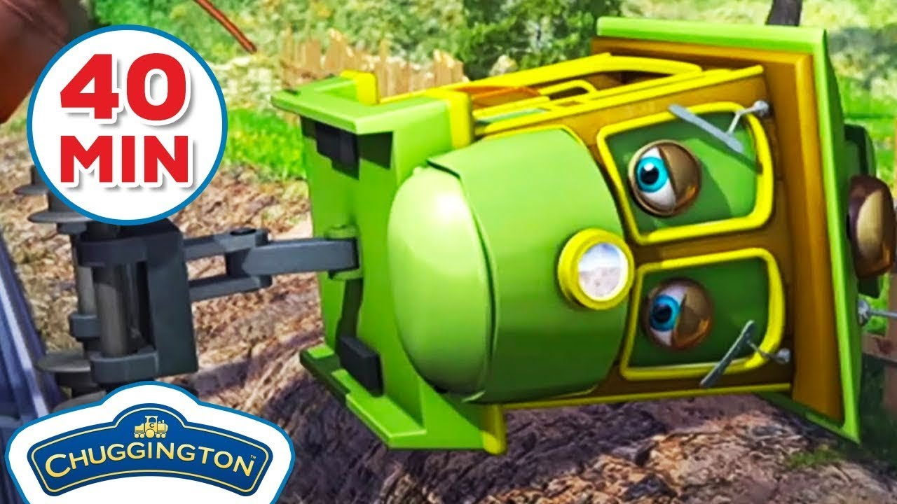 Zephie's Zoomaround!   40 Minute Compilation!   Chuggington   Shows For Kids