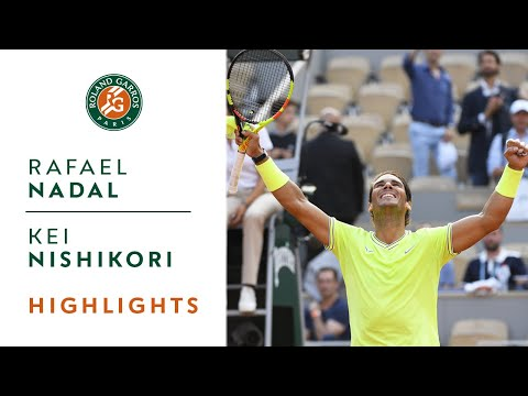 Rafael Nadal vs Kei Nishikori - Quarterfinals Highlights | Roland-Garros 2019