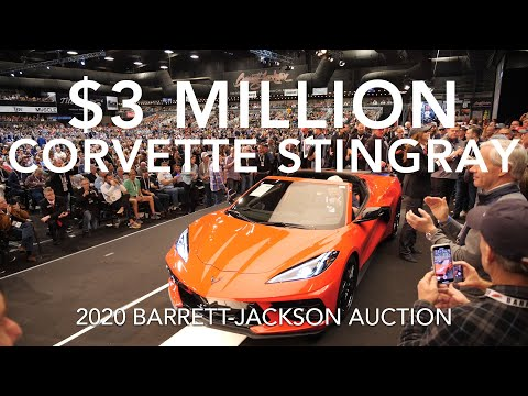 This Chevrolet Corvette Stingray Was Auctioned Off For $3 Million