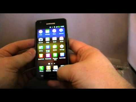 Samsung Galaxy SII (S2) Unboxing and First Look