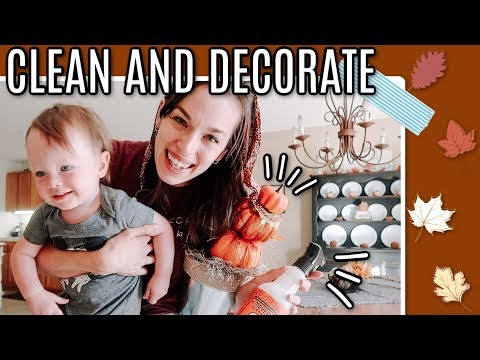 FALL CLEAN & DECORATE WITH ME | CLEAN WITH ME 2019 | FALL HOME DECOR IDEAS