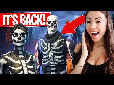 SKULL TROOPER is BACK! - Fortnite Gameplay LIVE