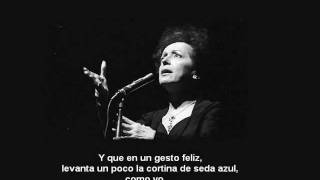 Edith Piaf - Comme Moi subtitulos español