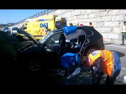 Accidente de tráfico en Monforte