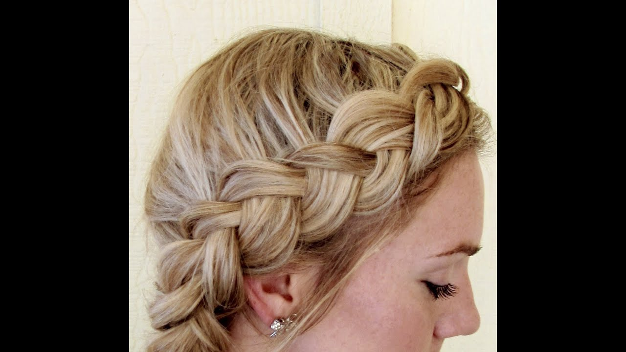 Hairstyles Braids On The Side: How To: Side Dutch Braid