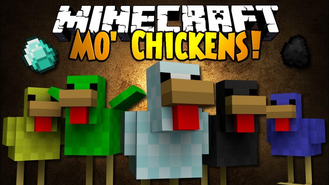 Minecraft Mod Showcase Mo Chickens Youtube
