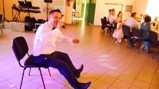 Talar; Dj ( zawodowy wodzirej)  Zabawy weselne -,,Na lewo na prawo''