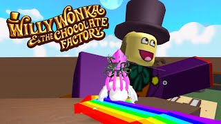 ROBLOX WILLY WONKA'S CHOCOLATE FACTORY TYCOON | RADIOJH GAMES