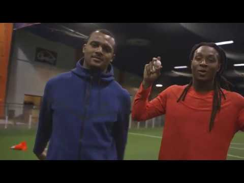 Football Pros Deshaun Watson and DeAndre Hopkins Take on the Ultimate Egg Toss Challenge