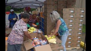 Disaster Relief: Reaching Families in Washington, North Carolina
