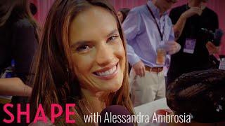 #VSFashionShow | Alessandra Ambrosio Backstage 2015 | Shape