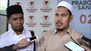 Datangi Markas Prabowo-Sandi, Dai Aceh Tak Dapat Jawaban Soal Tes Baca Alquran