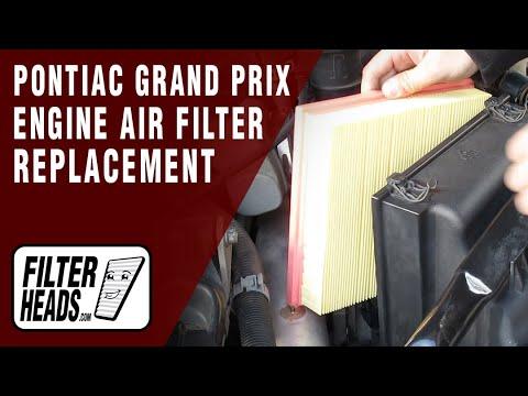 How to Replace Engine Air Filter 2005-2008 Pontiac Grand Prix V8 5.3L