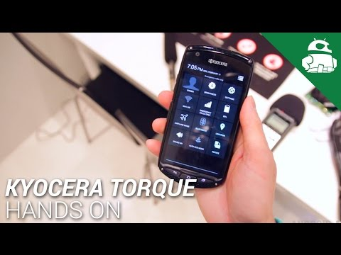 Kyocera Torque Hands On
