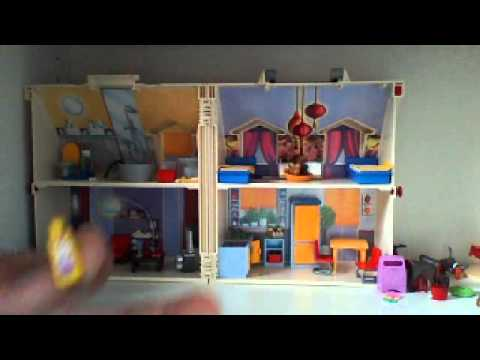 playmobil d mo maison transportable youtube. Black Bedroom Furniture Sets. Home Design Ideas