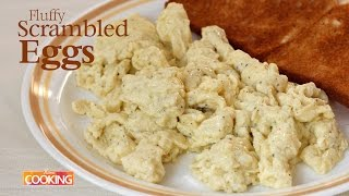 Fluffy Scrambled Eggs | Ventuno Home Cooking