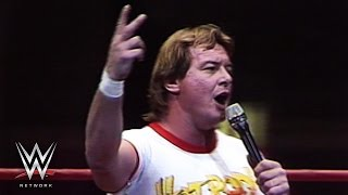 Roddy Piper says the New York Mets will overcome: October 20, 1986