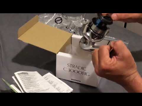 Shimano Stradic Fl Unboxing And Test